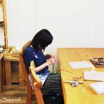 マクラメ編み教室で指輪を作ろう!!